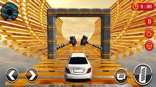 Car Crushing Speed Car Hammer Bumps Challenge Android Gameplay