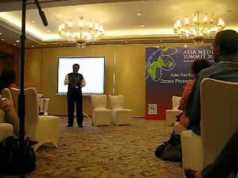 R. Shende addresses Journalists at Asia Pacific Media Summit, Beijing - Part II