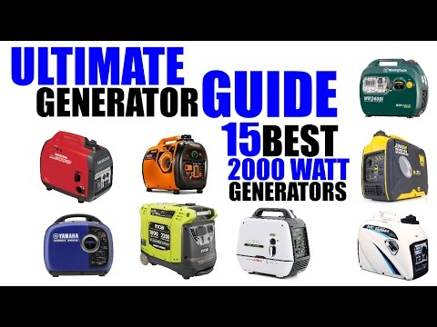 15 Best Inverter Generators | Ultimate 2000 Watt Generator Guide