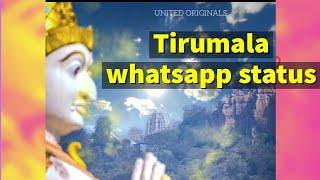 Tirumala whatsapp status #Govinda #shorts