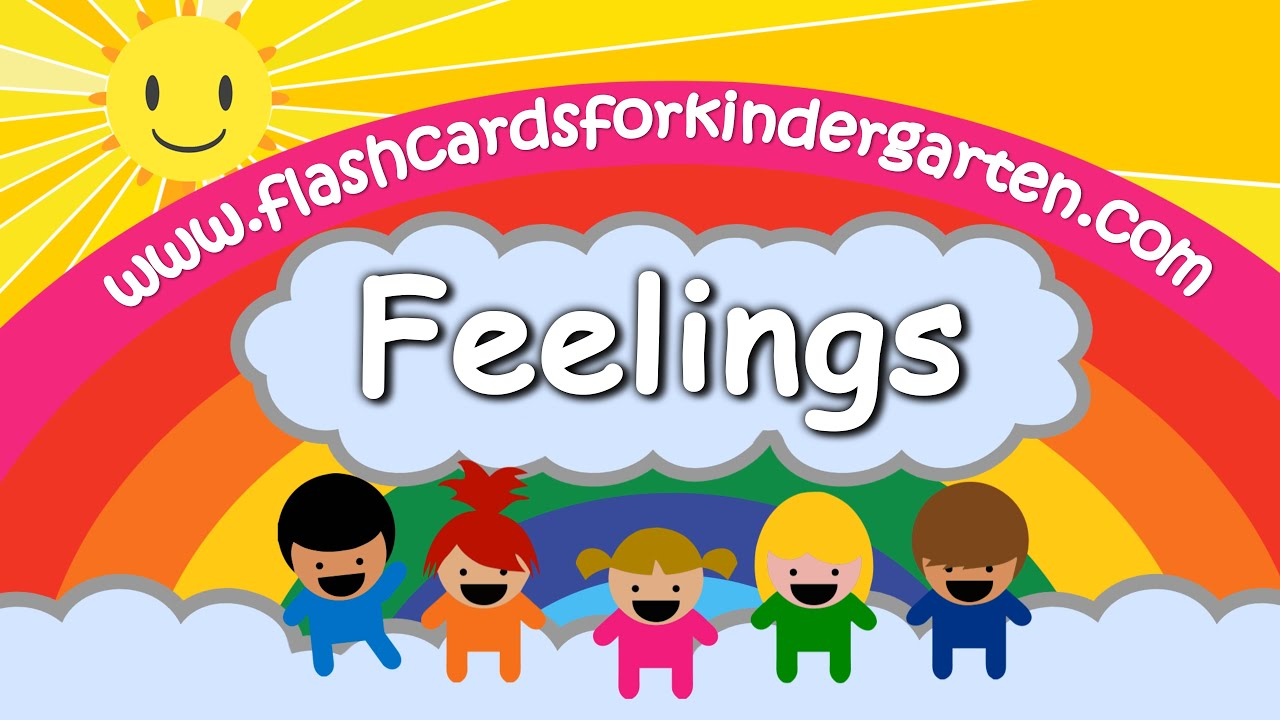Learn Feelings & Emotions in 4K - Vocabulary - Flashcards ...