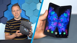 Samsung Galaxy Fold 5G - Unboxing des faltbaren Smartphones
