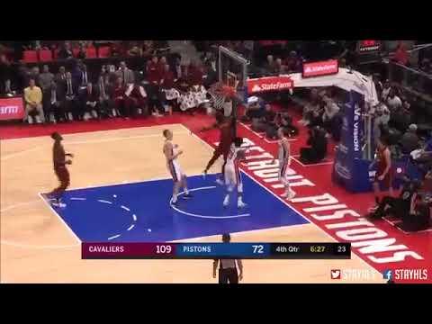 Cleveland Cavaliers vs Detroit Pistons - Cedi Osman Full Performance