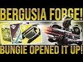 Destiny 2. BUNGIE OPENED UP THE BERGUSIA FORGE! New Forge, Quests, Mystery Box Opening(?)