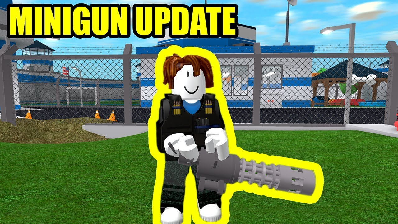 Full Guide Minigun And Bulletproof Vests Update Roblox Mad City Youtube