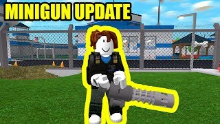 [FULL GUIDE] MINIGUN and BULLETPROOF VESTS UPDATE | Roblox Mad city