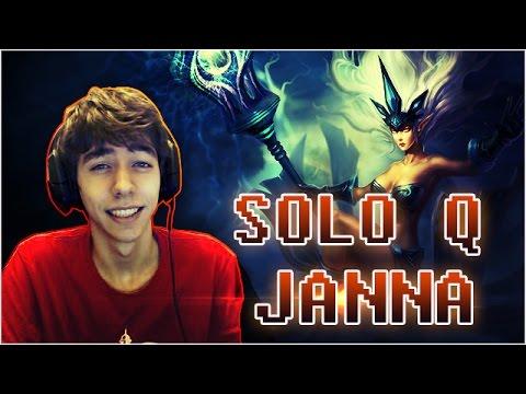 JANNA - SoloQ Master - Peut-on gagner sans AD Carry dans sa team ?