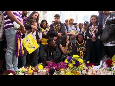 В авиакатастрофе погиб знаменитый баскетболист Коби Брайант.