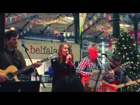 TriplePlay at St. Georges Market, Belfast, December 2016