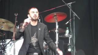 Ringo Starr - Back Off Boogaloo [HD] live 9 7 2011 Bospop Festival Weert The Netherlands