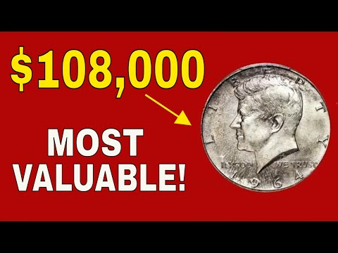 The Rarest And Most Valuable Kennedy Half Dollar In Existence Worth Huge Money!