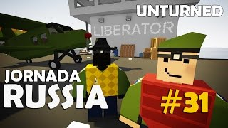 Unturned - Jornada Russia #31: Entregando Quests (Ft. Dead)