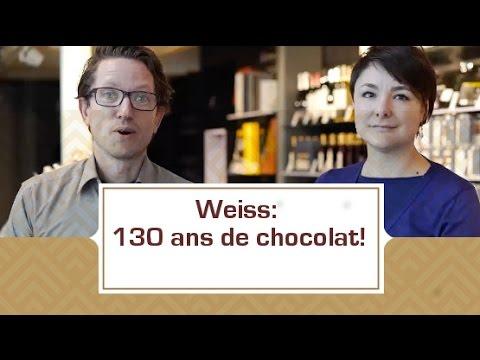 [VIDEO] Weiss: 130 ans de chocolat!