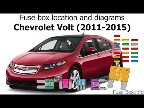 Fuse box location and diagrams: Chevrolet Volt (2011-2015) - YouTube