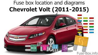 Fuse box location and diagrams: Chevrolet Volt (2011-2015) - YouTube | 2012 Chevy Volt Wiring Diagram |  | YouTube