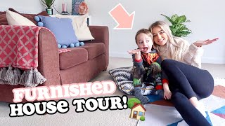 FURNISHED HOUSE TOUR 2019!