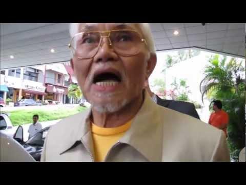 Taib Mahmud's reponse to Global Witness film - 19.03.2013