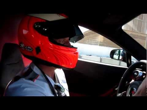 McLaren Test Driver Chris Goodwin Gives Hot Laps in MP4-12C