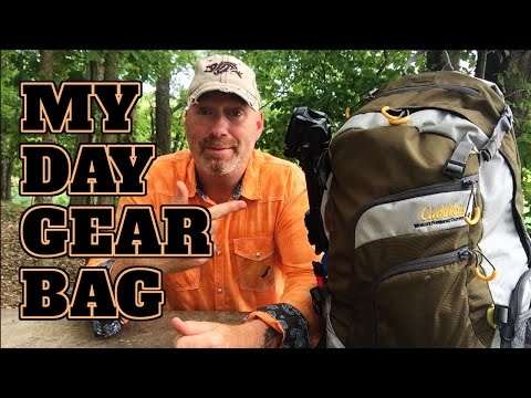 Cabela's Fishing Backpack Review - My Day Bag
