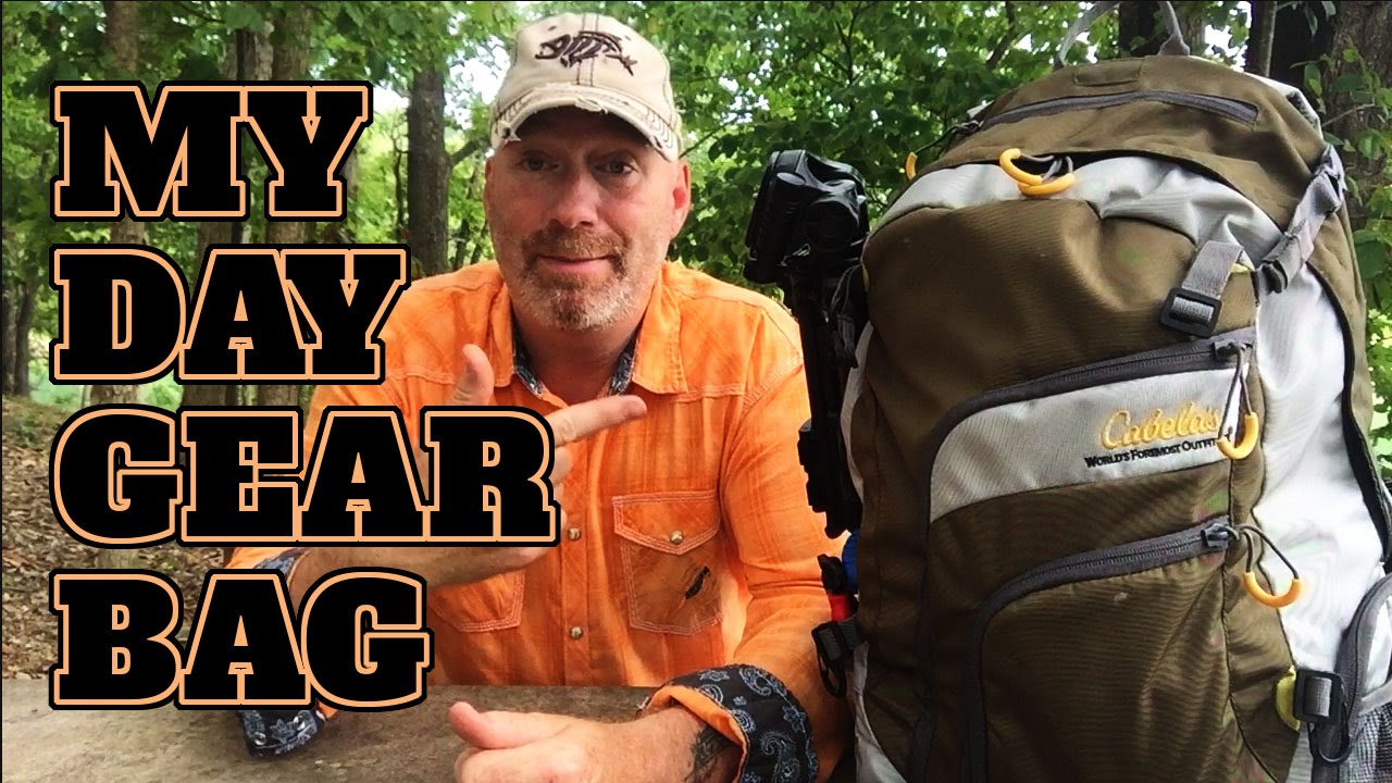 Cabela 39 s fishing backpack review my day bag youtube for Cabelas fishing backpack