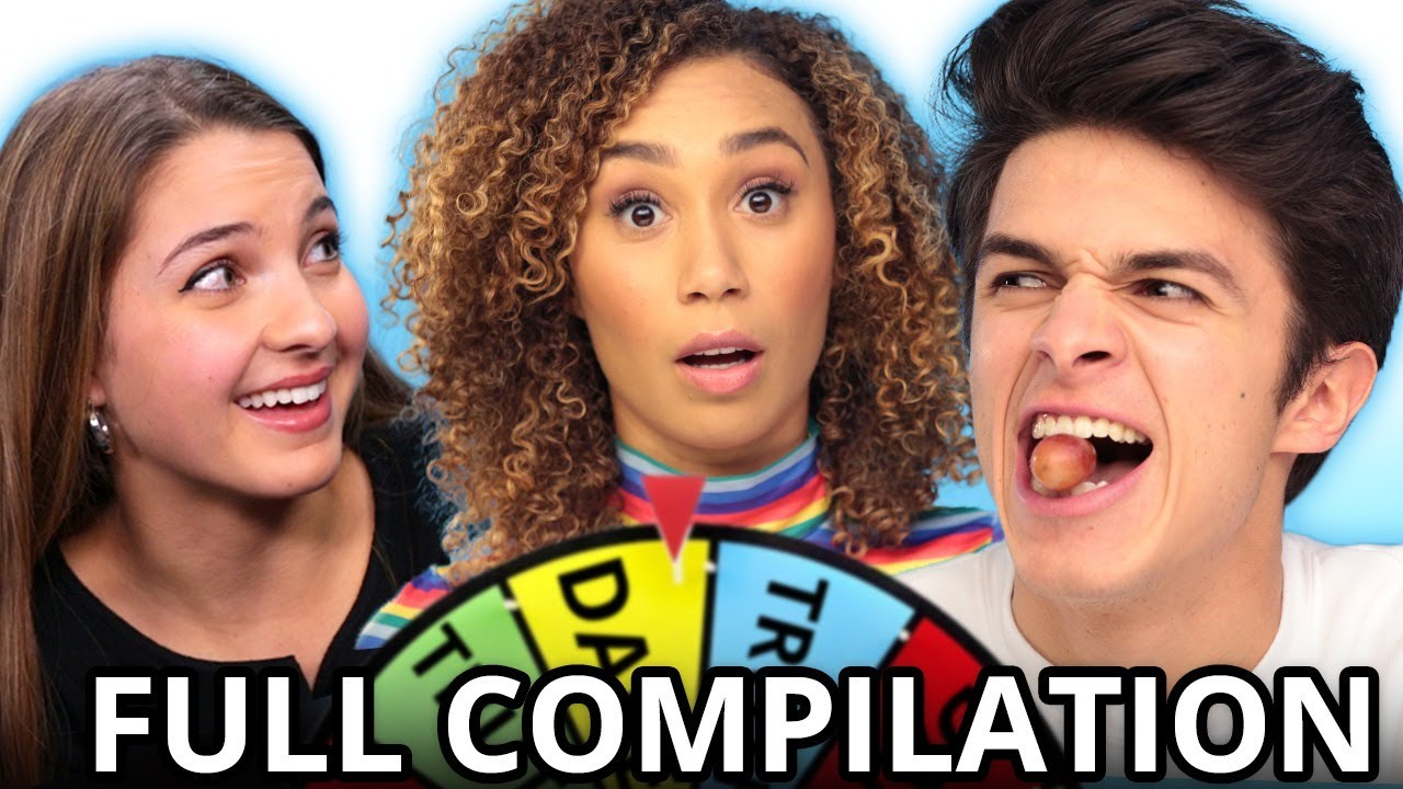 Ultimate TRUTH OR DARE Challenge Compilation w/ Brent Rivera, Lexi Rivera, Eva Gutowski, & MORE