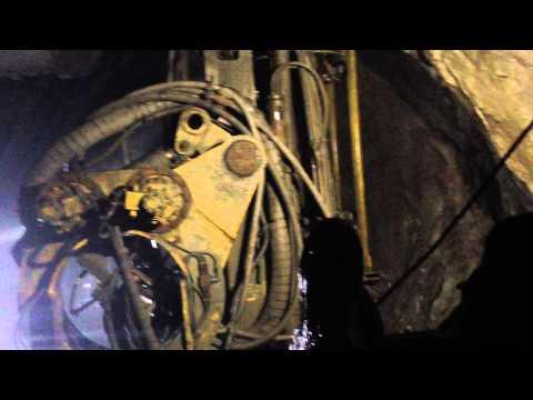 Бурение в шахте