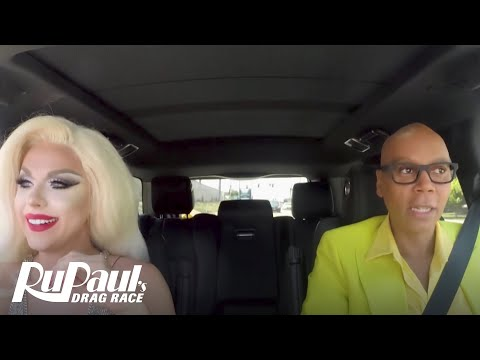 Drag Queen Carpool: Farrah Moan | RuPaul's Drag Race Season 9 | Now on VH1!