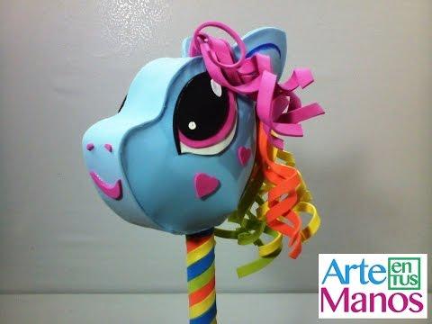 My Little Pony en Foami o Goma eva paso a paso, Caballito de Juguete