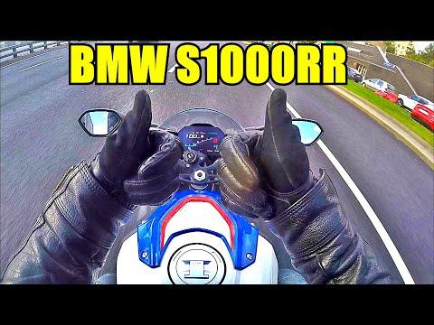 BMW S1000RR 2020: тест райд с комментариями.