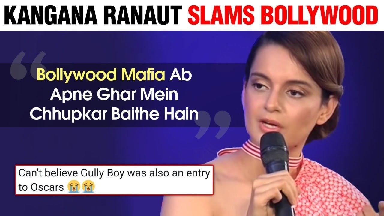 Kangana Ranaut SLAMMED Bollywood Once Again   Calls Out Bollywood Mafias