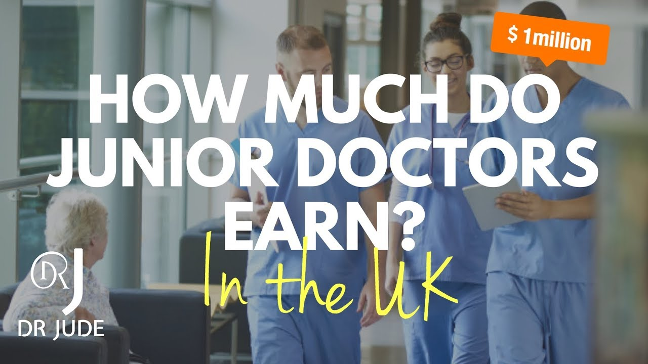 how much money does a junior doctor make