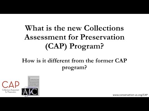 What is the Conservation Assessment for Preservation (CAP) Program?