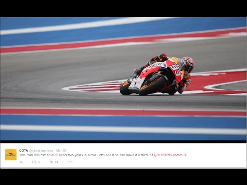 motogp 2015 austin texas full rece report - marc marquez win 1st 2015 pole