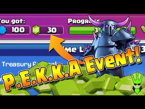 MORE PEKKA'S = MORE LOOT! - COMPLETING PEKKA EVENT - Clash of Clans - TH9 Dark Elixir Farming