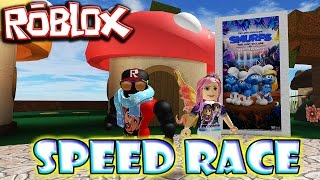 ROBLOX: Speed Race Pitufos Edition!