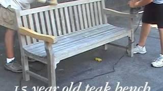 Authenteak Teak Refinishing And Teak Cleaning
