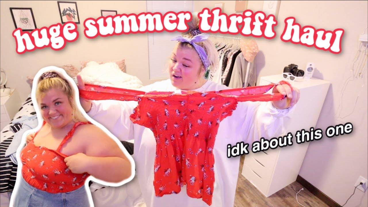 EPIC SUMMER THRIFT HAUL *online*