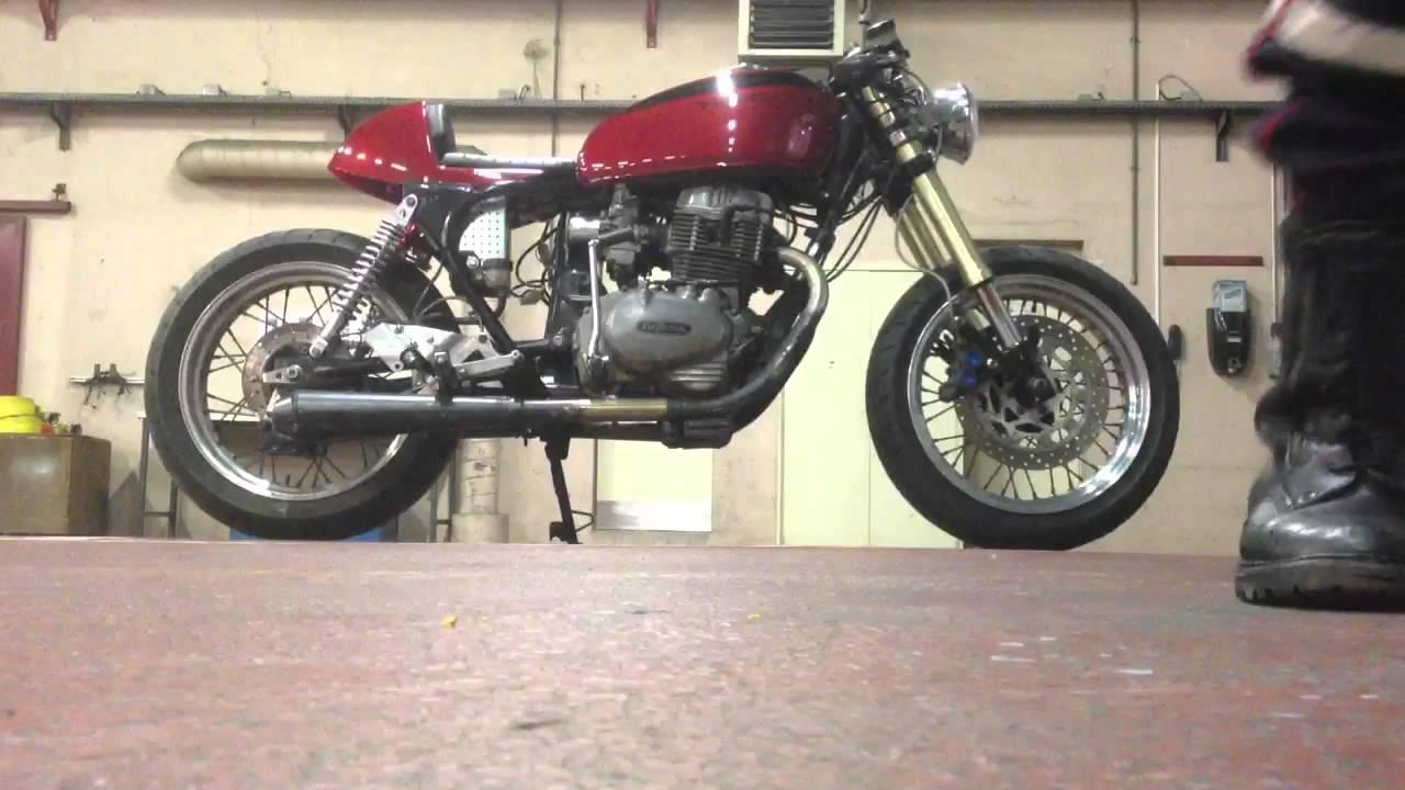 honda cb400 t café racer - youtube