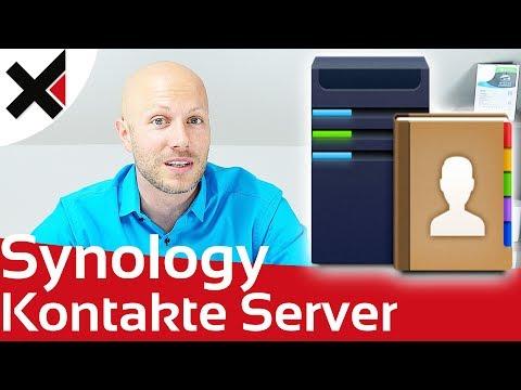 Kontakte Server CardDAV und gemeinsam nutzen auf Synology DiskStation
