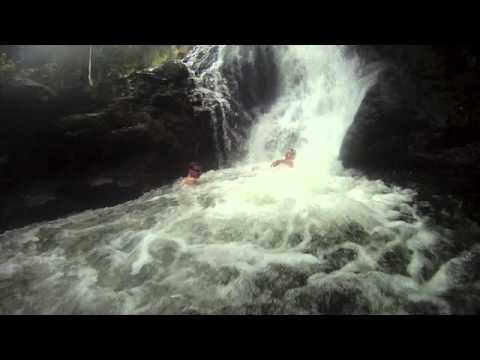 Ho'opi'i Falls - Kauai, Christmas 2012