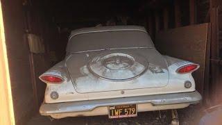 SOLD: 1961 Plymouth Valiant 4263 Original Miles, CA