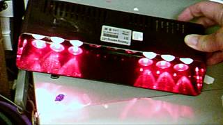 9 Led Red / Amber Shelf / Dash Mini Director. Multi Patterns
