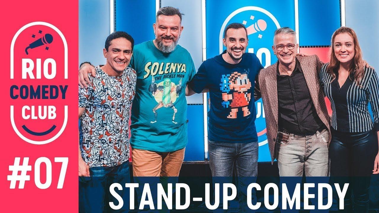 RIO COMEDY CLUB 7 - STAND-UP c/ Cláudio Torres Gonzaga, Xanda Dias, Cadu Manhães e Fred Mascarenhas