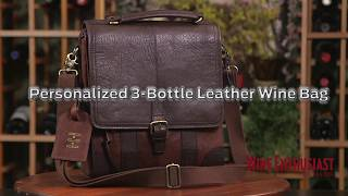 Leather Wine Bottle Tote Wine Sleeve Gift Laser Engraved Leather Wine Bottle Carrier Leather Wine Bottle Holder Leather Wine Bottle Bag