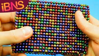 Playing With 1000 Mini Magnetic Balls Pt. 2 ASMR With 1000 Oddly Satisfying Buckyballs