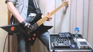 今回はLOUDNESSの「S.D.I.」を後半カットして弾いてみました。 Bass Gui...
