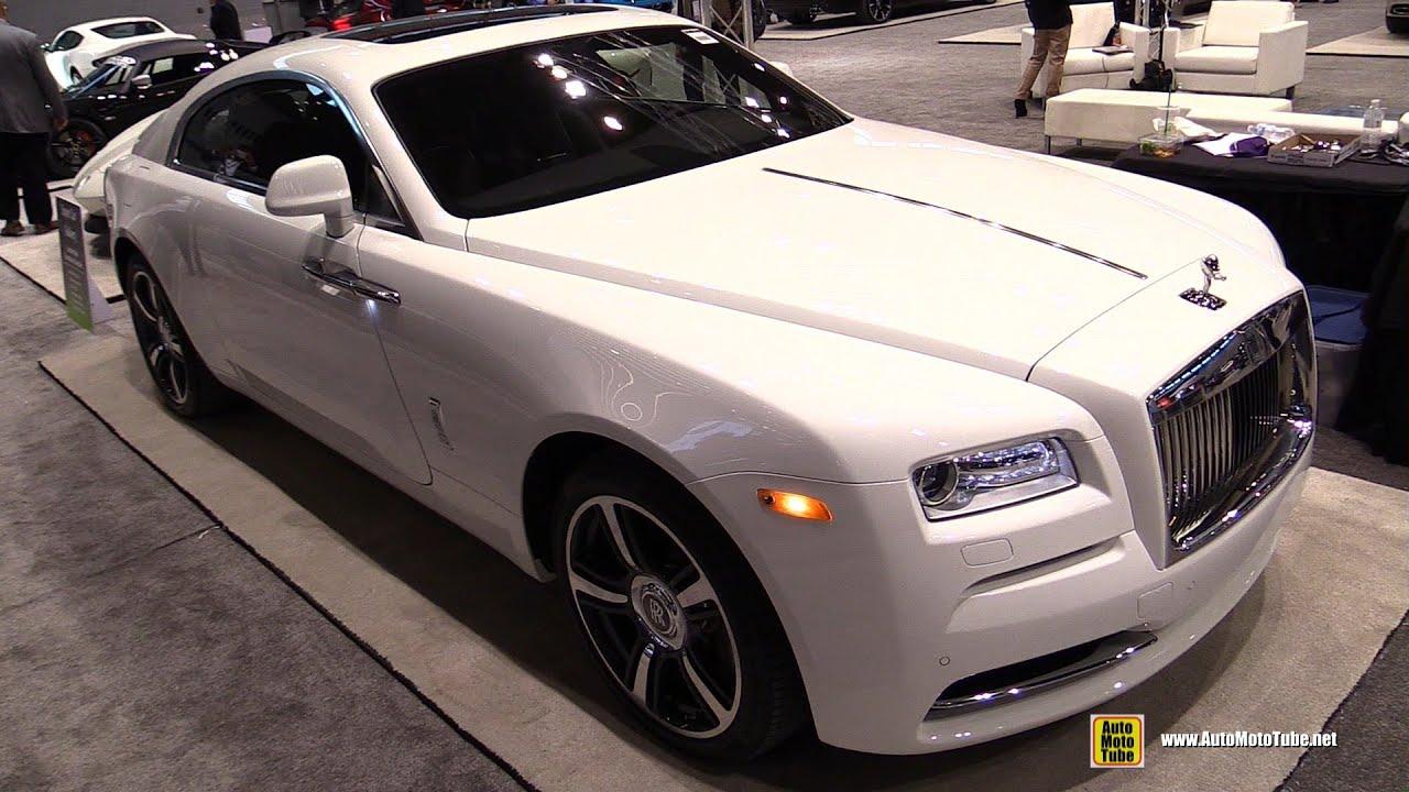 2016 Rolls Royce Wraith Exterior And Interior Walkaround Chicago Auto Show
