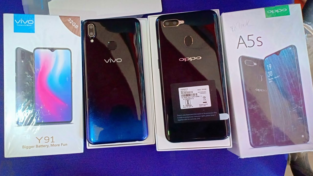Oppo A5s vs VIVO Y91 ।। Comparison VivoY91 Vs Oppo A5S