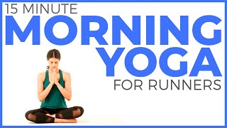 15 minute Simple Morning Yoga Flow | Beginner Yoga Friendly