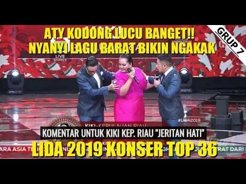 Lida Dangdut Indosiar(9 Maret 2019) Atik Kodong Lucu Parah Nyanyi Lagu Barat!!!